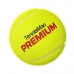 Tennisbälle - TENNISMAN PREMIUM - 60 Bälle im Polybag - gelb