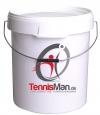 Tennisman Ball Eimer inkl. Deckel für 120 Bälle