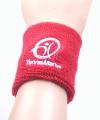 Tennisman - Schweissband - Wristband - rot