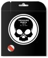 Tennissaite - BLACK SKULL - TREASURE PENTA - 12 m