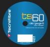 Tennissaite -Tecnifibre TS 60 1,38 mm - 200 Meter