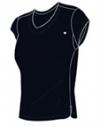 Wilson - Short Sleeve V Neck - schwarz