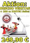Bespannungsmaschine: DISCHO-Veritas OR + 200 m DISCHO IONTEC Saite
