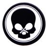 Vibrastop - Black Skull