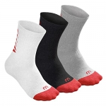 Wilson Tennissocken - Youth Core Crew (3 Paar)
