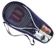 Tennisschläger - Wilson - Roland Garros ELITE 25 Kit Junior (2021)