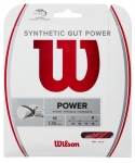 Tennissaite - Wilson - Synthetic Gut Power - rot - 12,2 m (2020)