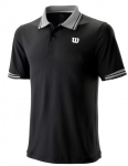 Wilson - STAR TIPPED POLO - black - Herren (2019)