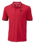 Wilson - STAR TIPPED POLO - infrared - Herren (2019)