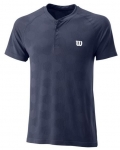 Wilson - POWER SEAMLESS HENLEY - peacoat - Herren (2020)