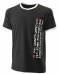 Wilson - SINCE 1914 TEE - black/white - Herren (2020)