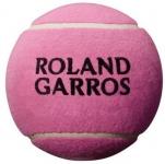Tennisbälle - Wilson - ROLAND GARROS 5'' MINI BALL - Pink (2020)