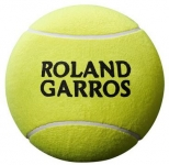 Tennisbälle - Wilson - ROLAND GARROS 5'' MINI BALL - Yellow (2020)