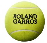 Tennisbälle - Wilson - ROLAND GARROS 9'' JUMBO BALL - Yellow (2020)