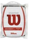 Wilson - Advantage Overgrip - 12er Packung - schwarz