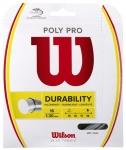 Tennissaite - Wilson - POLY PRO - silber - 12,2 m