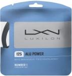 Tennissaite - Luxilon - ALU POWER - silber - 12,2 m (2017)