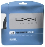 Tennissaite - Luxilon - ALU POWER Rough - silber - 12,2 m (2019)