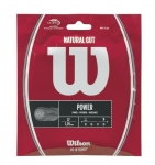 Tennissaite - Wilson - Natural Gut Power - natur - 12,2 m (2017)