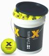 Tennisbälle - Tretorn X-Trainer - 72 Bälle im Eimer