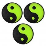 Vibrastop- Discho - Yin und Yang - schwarz/grün - 3 Stck.
