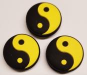 Vibrastop - Discho - Yin und Yang - schwarz/gelb - 3 Stck.